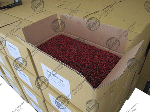 صادرات زرشک و عناب