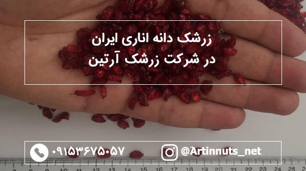 زرشک دانه اناری ایران