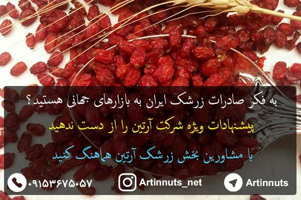 انواع زرشک ایران