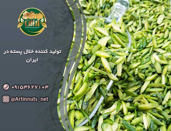 تولید کننده خلال پسته در ایران