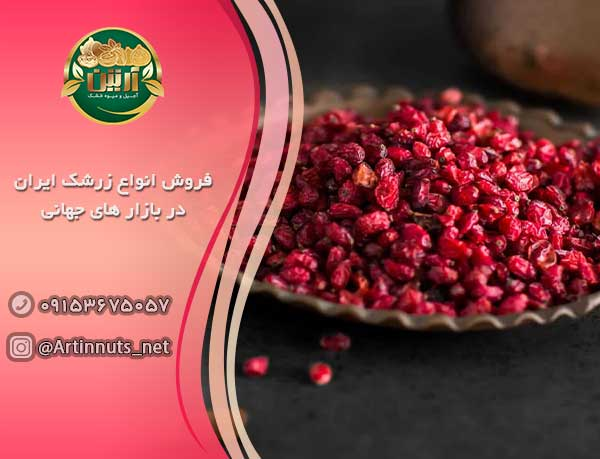 فروش انواع زرشک ایران در بازار های جهانی