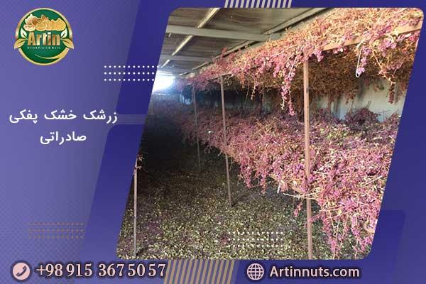زرشک خشک پفکی صادراتی