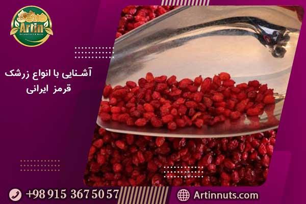 آشنایی با انواع زرشک قرمز ایرانی