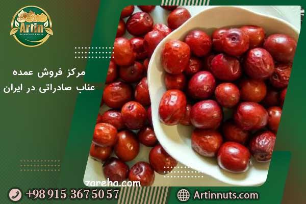 مرکز فروش عمده عناب صادراتی در ایران