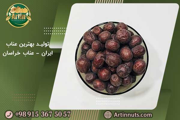 تولید بهترین عناب ایران - عناب خراسان جنوبی