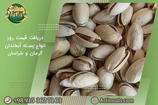 دریافت قیمت روز انواع پسته آبخندان کرمان و خراسان