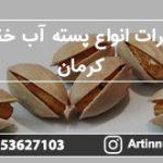 صادرات انواع پسته آب خندان کرمان