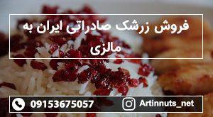 فروش زرشک صادراتی ایران به مالزی - صادرات زرشک به مالزی - زرشک آرتین