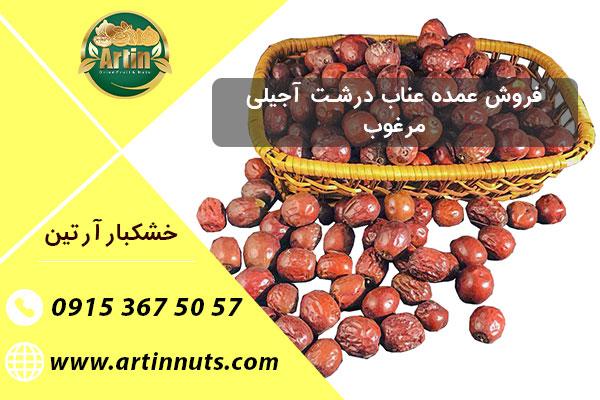 فروش عمده عناب درشت آجیلی مرغوب