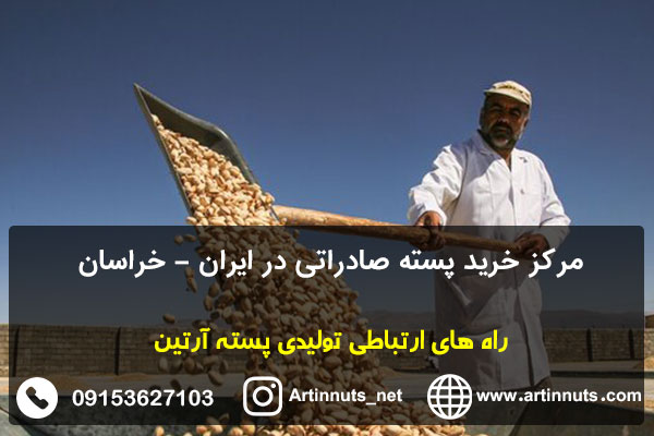 مرکز خرید پسته صادراتی در ایران - خراسان