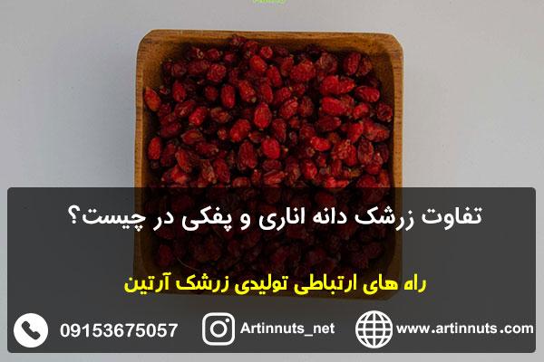تفاوت زرشک دانه اناری و پفکی در چیست؟