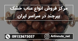 مرکز فروش انواع عناب خشک بیرجند در سراسر ایران