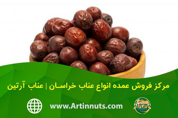 مرکز فروش عمده انواع عناب خراسان | عناب آرتین