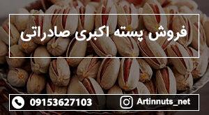 فروش پسته اکبری صادراتی