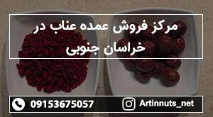 مرکز فروش عمده عناب در خراسان جنوبی