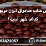 بهترین عناب صادراتی ایران مربوط به کدام شهر است؟