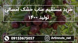 خرید مستقیم عناب خشک امسالی تولید ۱۴۰۰