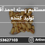 خرید مستقیم پسته احمدآقایی از تولید کننده